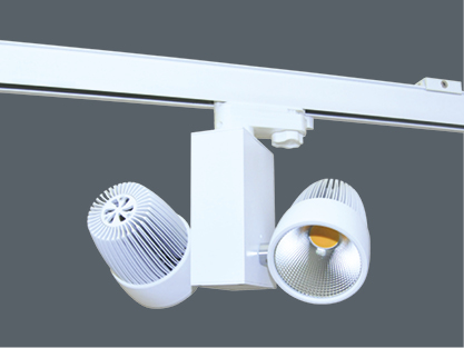 30 Watt LED Schienensystemleuchte - 4.500 K - 55°