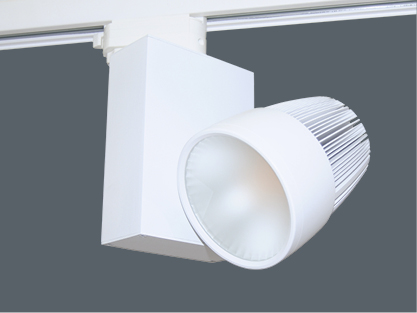 Mid-Frosted Optik für 30W LED Schienensystemleuchte