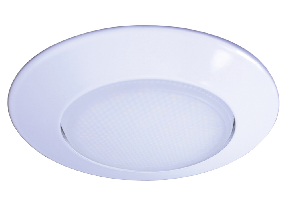 GX53 Einbaustrahler Weiß mit 5,6W LED Warmweiß