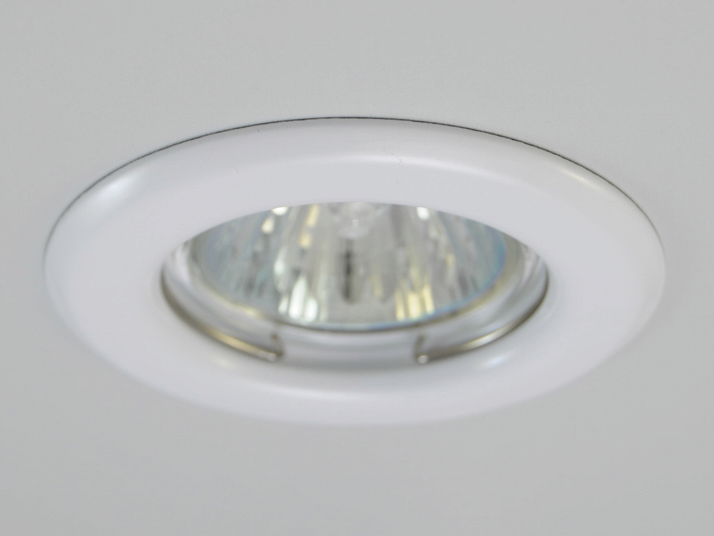 Einbaustrahler ZL-1650 Weiß / 3W GU10 - Warmweiß