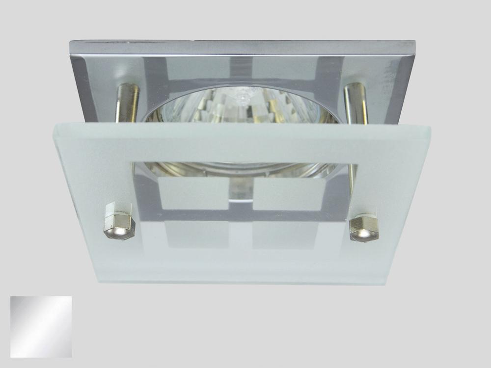 Einbaustrahler ZL-1501P Chrom / ohne Leuchtmittel
